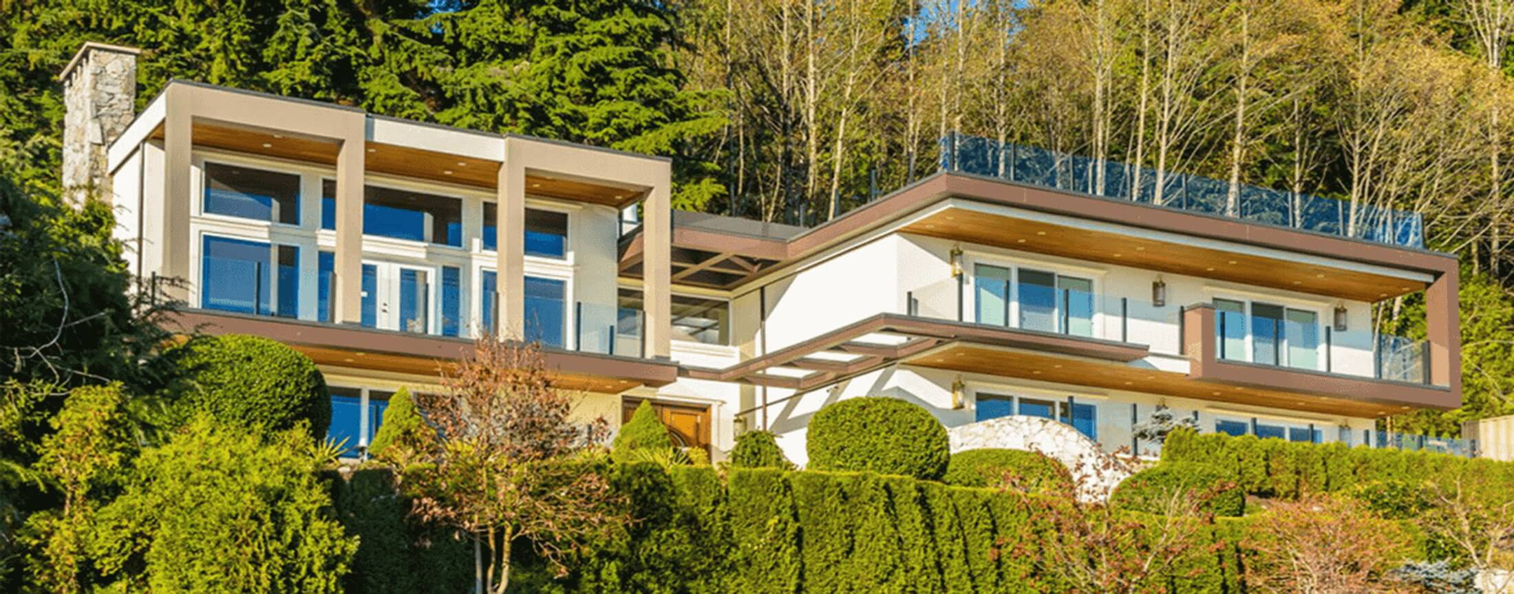 Residential glass tinting services by All Weather Glass Tinting Jackson Hole